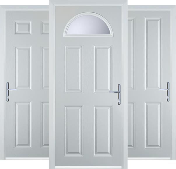 Picture of panel doors
